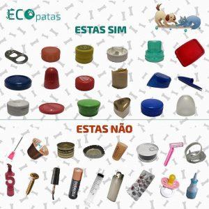 Material para reciclagem ecopatas